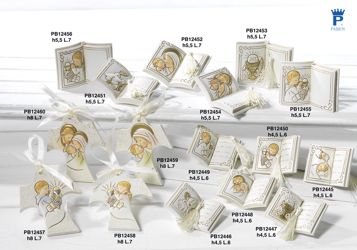 17E4 - Sacri Comunione - Cresima - Articoli Religiosi - Prodotti - Rebolab