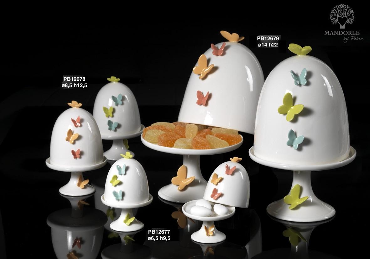 181B - Collezioni Porcellana-Ceramica - Mandorle Bomboniere  - Prodotti - Rebolab