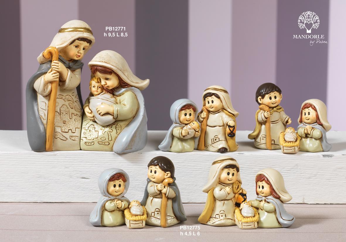 1831 - Presepi - Natività Resina - Natale e Altre Ricorrenze - Prodotti - Rebolab