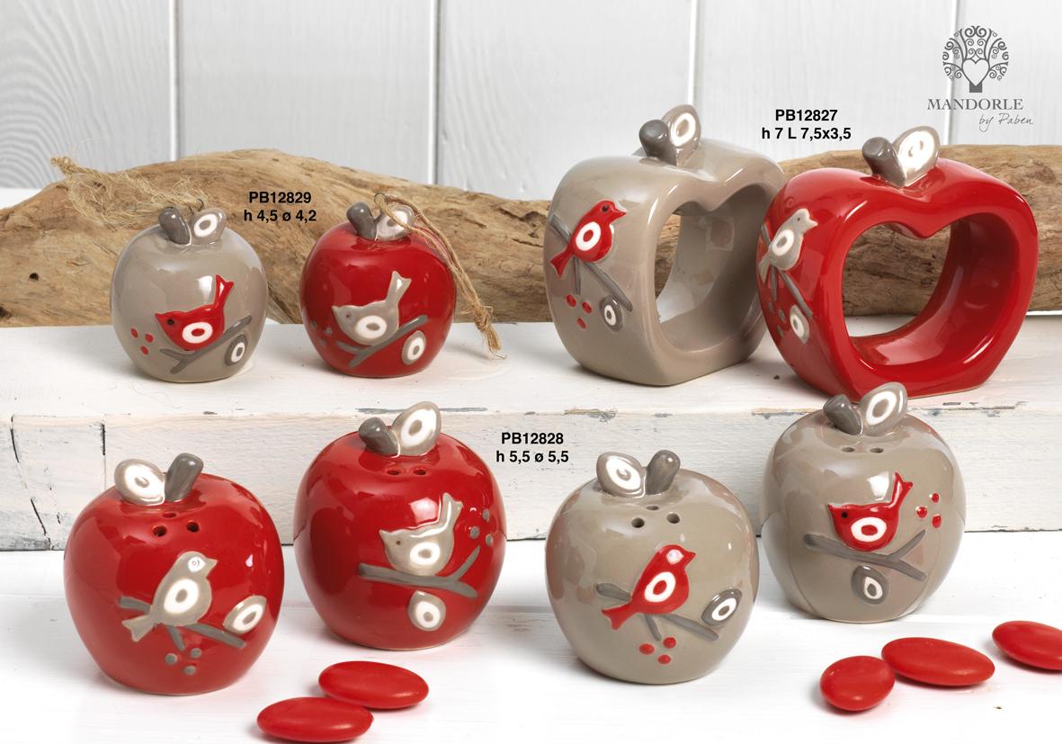 Paben - Prodotti - Articoli Regalo - Bomboniere Ceramica - Linee Bomboniera - Regalo Ceramica 'Mandorle' - 1842