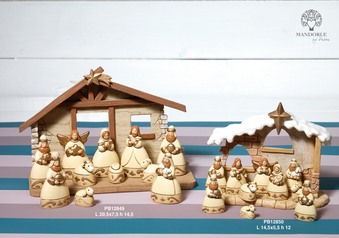 1847 - Presepi - Natività Resina - Articoli Religiosi - Prodotti - Rebolab