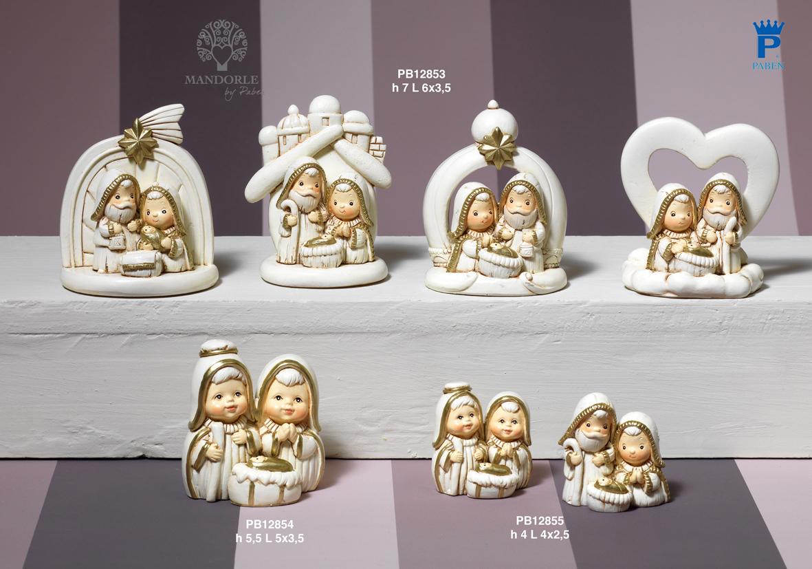1849 - Presepi - Natività Resina - Natale e Altre Ricorrenze - Offerte - Paben