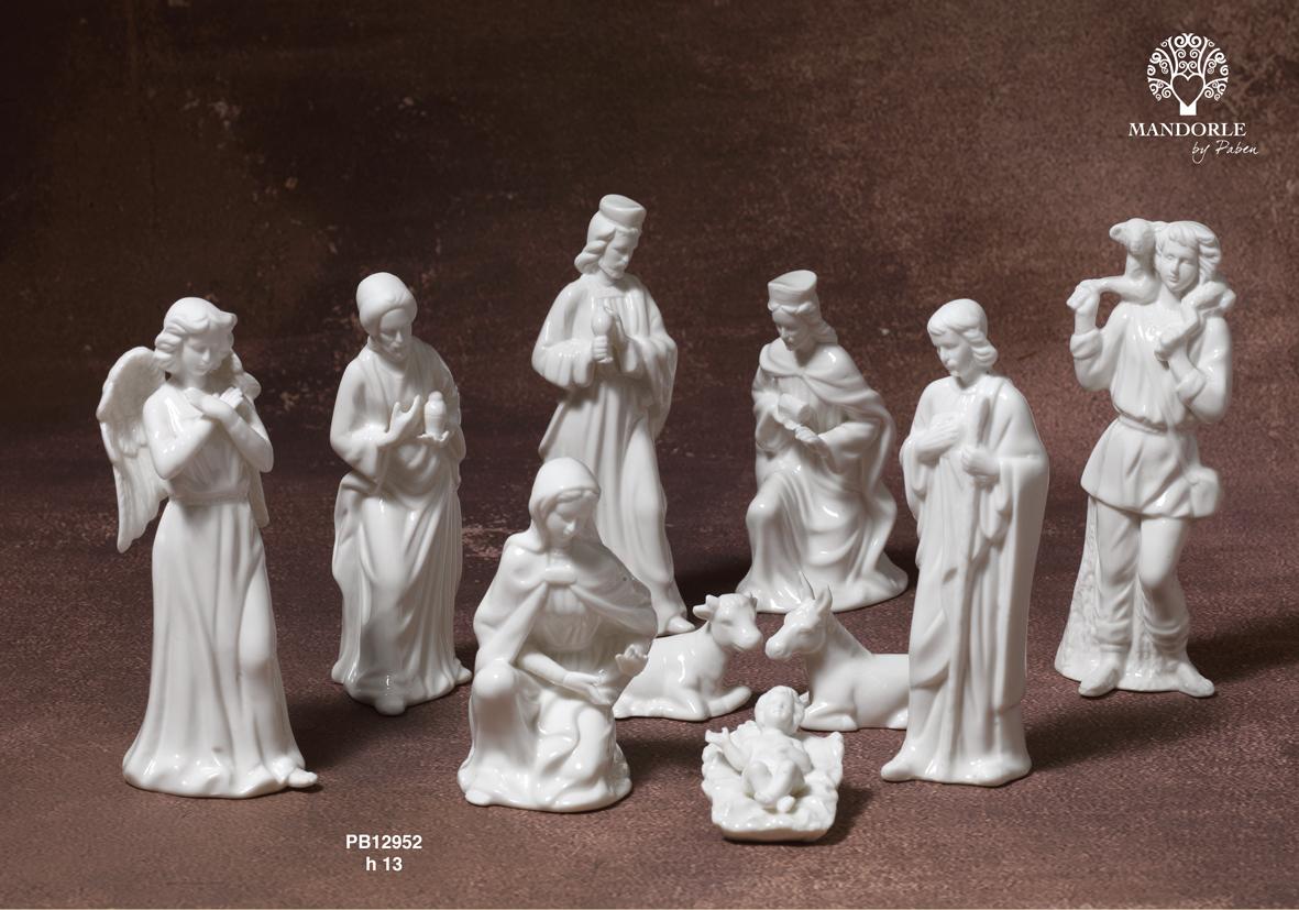 185F - Presepi - Natività Resina - Natale e Altre Ricorrenze - Prodotti - Rebolab