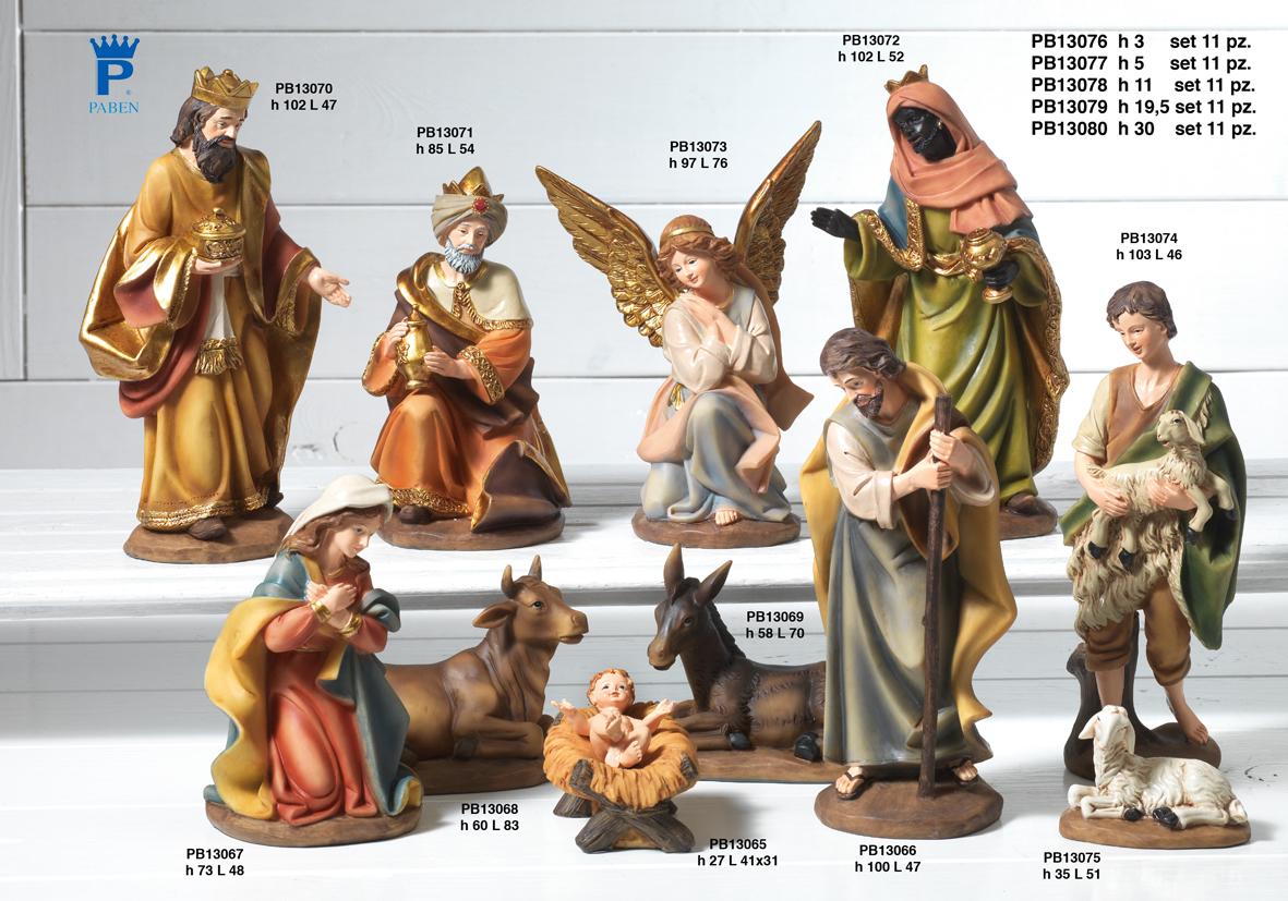 1880 - Presepi - Natività Resina - Natale e Altre Ricorrenze - Prodotti - Rebolab