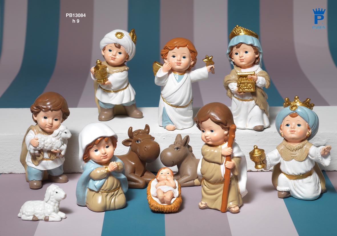 1882 - Presepi - Natività Resina - Natale e Altre Ricorrenze - Prodotti - Rebolab