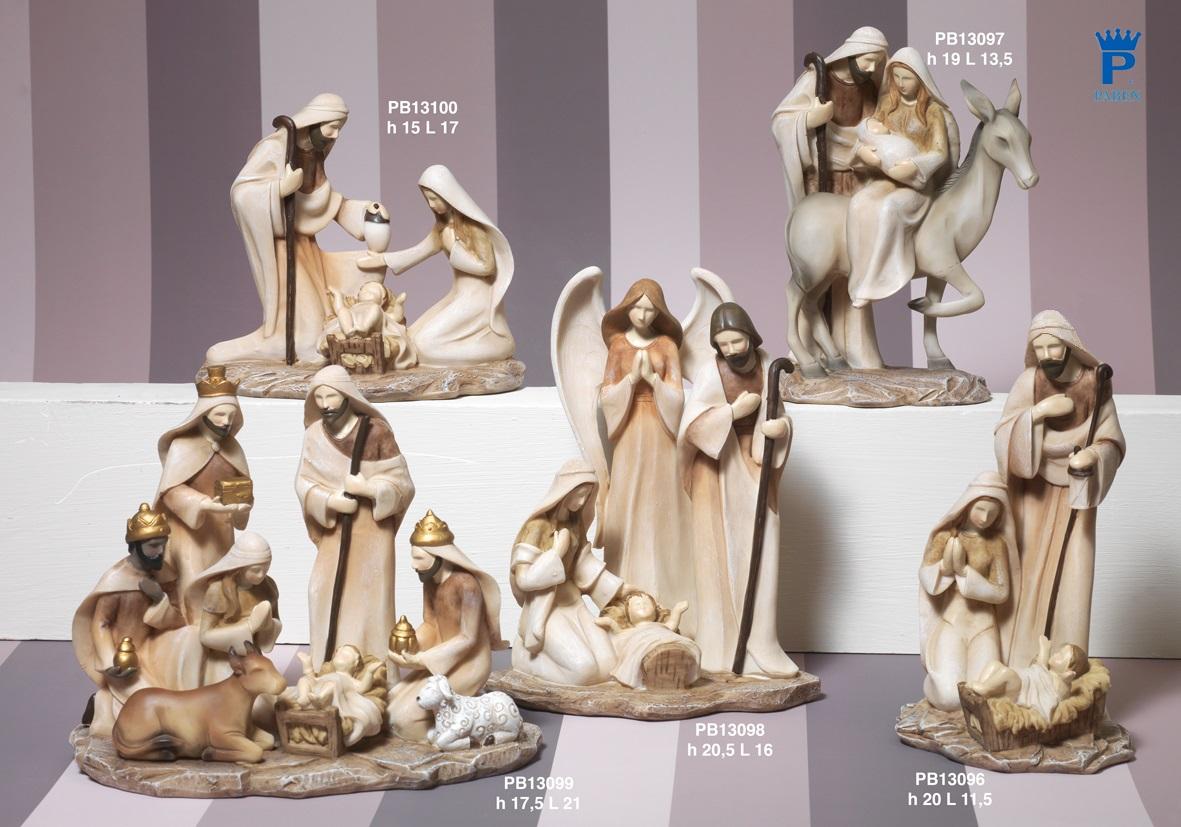 1885 - Presepi - Natività Resina - Articoli Religiosi - Prodotti - Rebolab