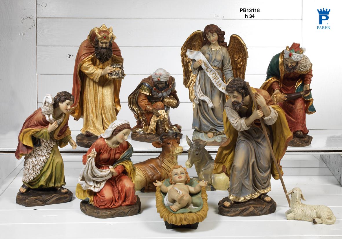 1886 - Presepi - Natività Resina - Natale e Altre Ricorrenze - Prodotti - Rebolab
