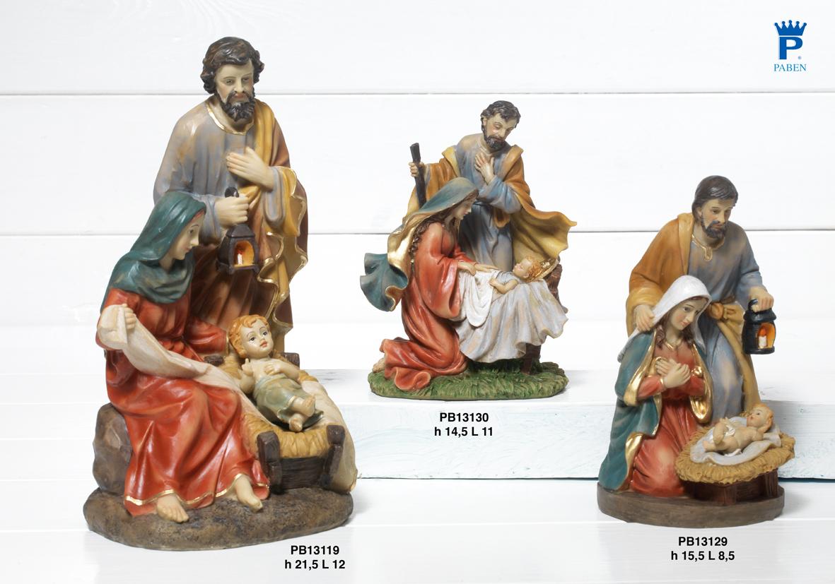 1887 - Presepi - Natività Resina - Articoli Religiosi - Prodotti - Rebolab