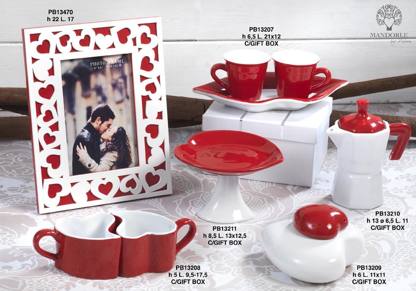 18A2 - Collezioni Porcellana-Ceramica - Mandorle Bomboniere  - Prodotti - Rebolab