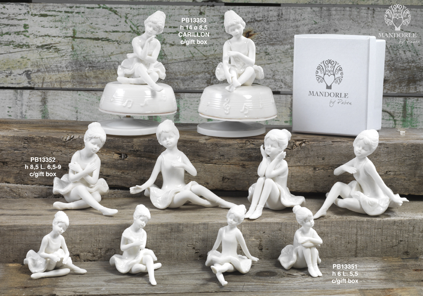 18C3 - Collezioni Porcellana-Ceramica - Mandorle Bomboniere  - Prodotti - Rebolab