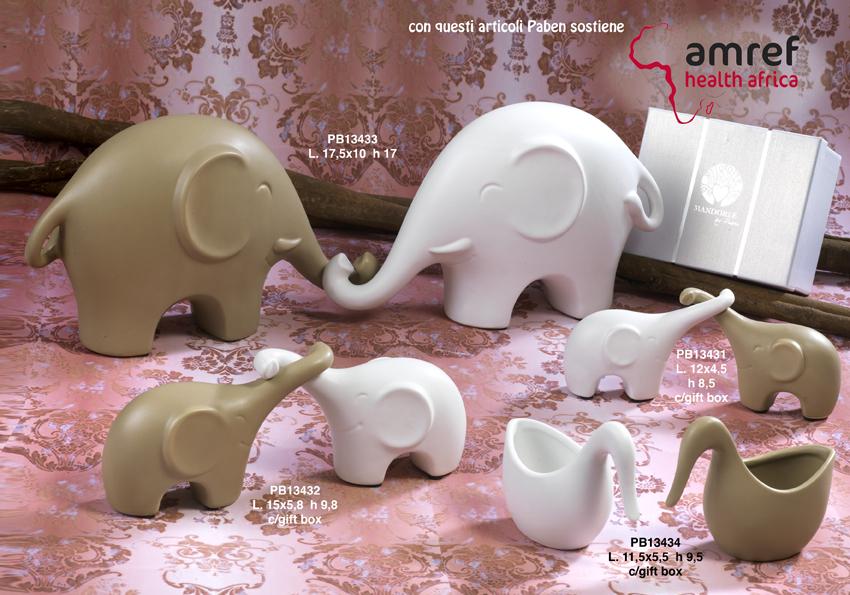 Paben - Prodotti - Articoli Regalo - Bomboniere Ceramica - Linee Bomboniera - Regalo Ceramica 'Mandorle' - 18D8