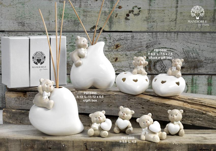 18DC - Collezioni Porcellana-Ceramica - Mandorle Bomboniere  - Prodotti - Rebolab
