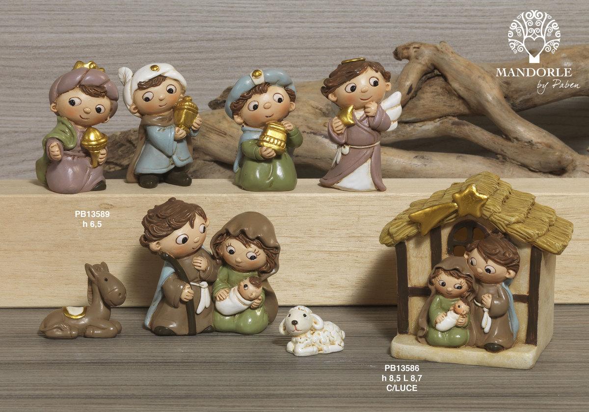 1900 - Presepi - Natività Resina - Natale e Altre Ricorrenze - Prodotti - Rebolab