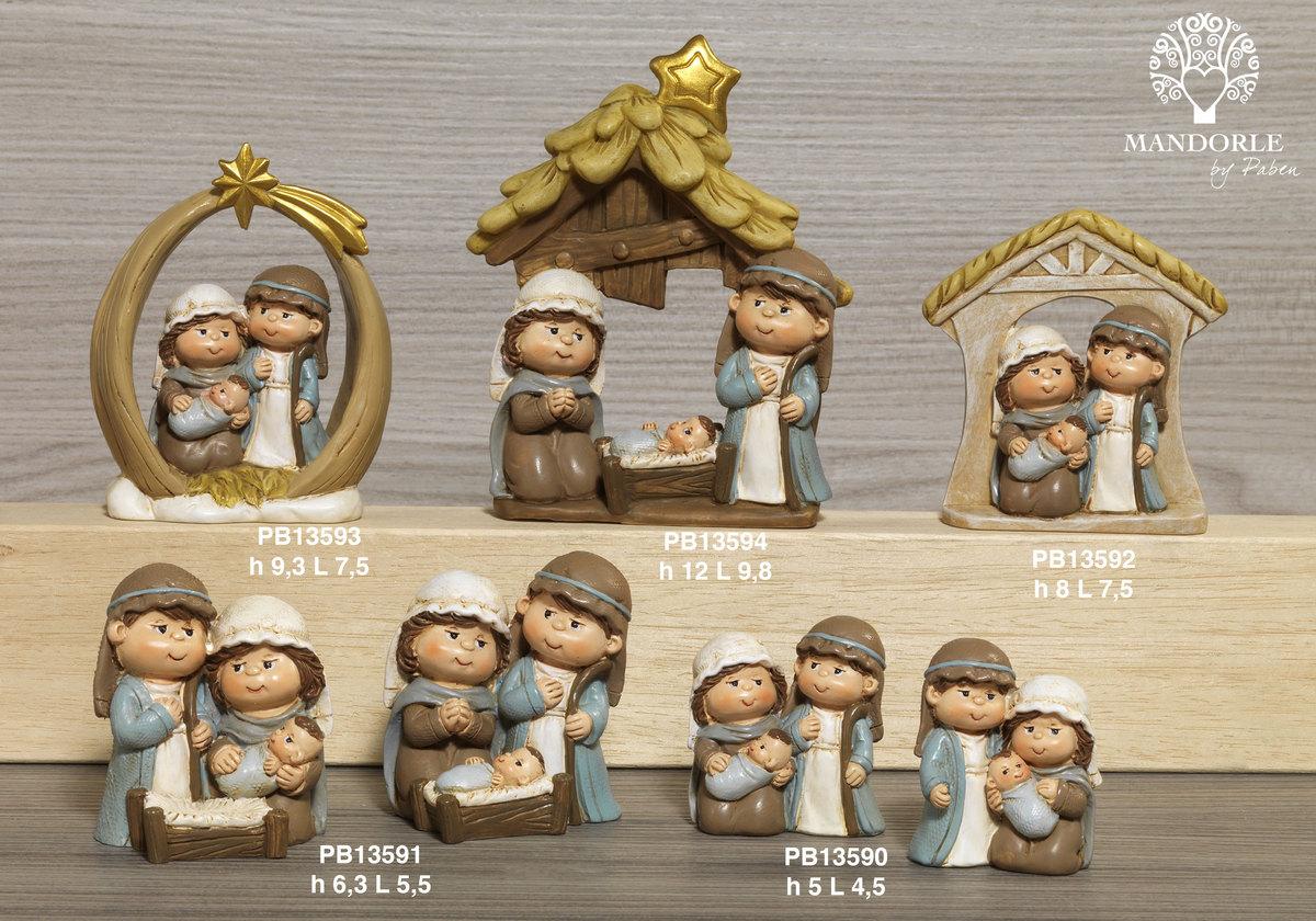 1901 - Presepi - Natività Resina - Natale e Altre Ricorrenze - Prodotti - Rebolab