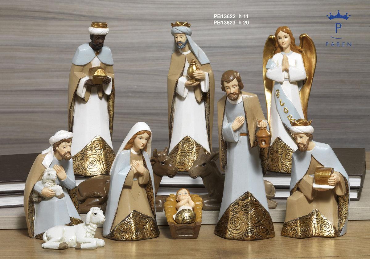 190C - Presepi - Natività Resina - Articoli Religiosi - Prodotti - Rebolab