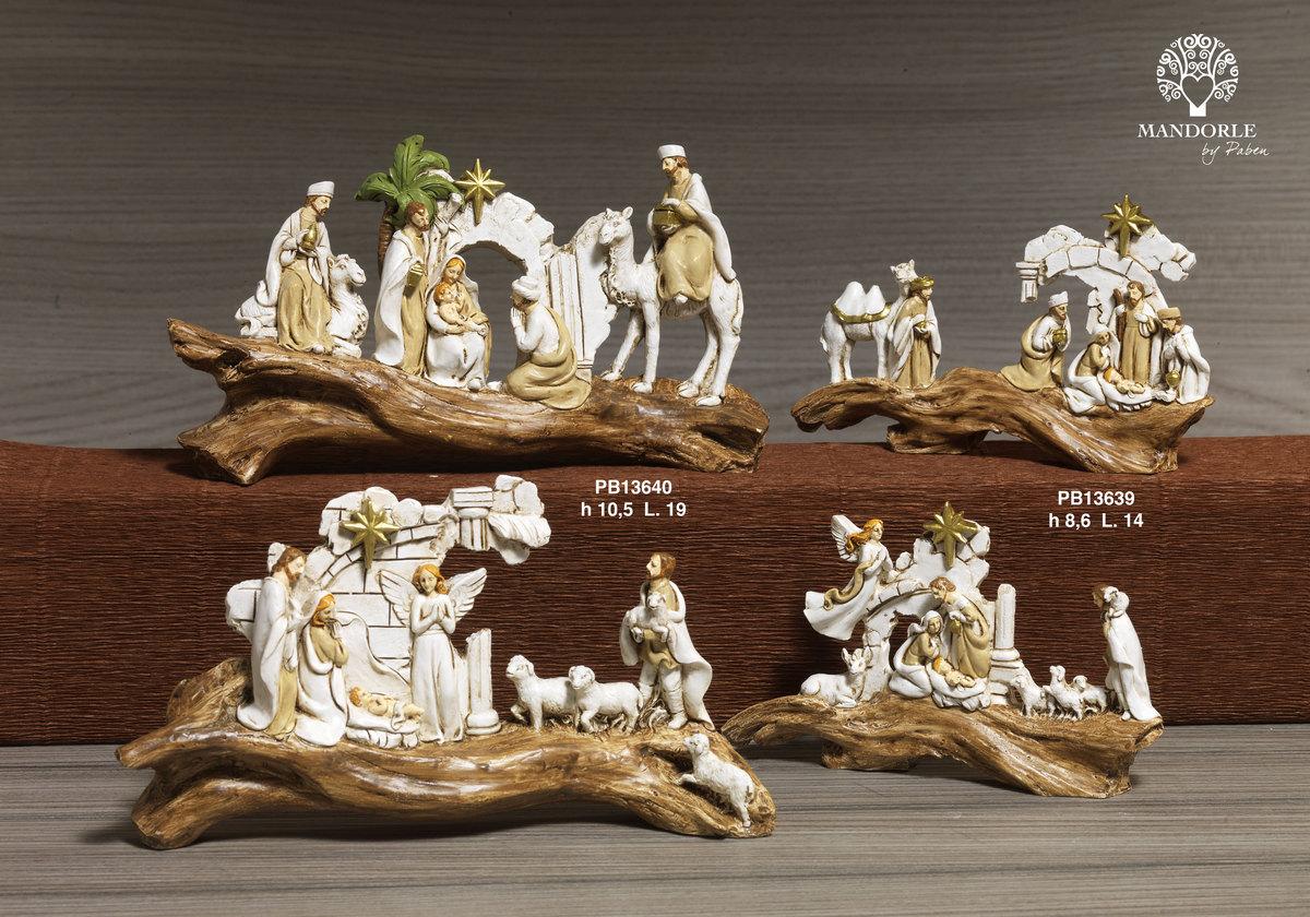 1910 - Presepi - Natività Resina - Articoli Religiosi - Prodotti - Rebolab