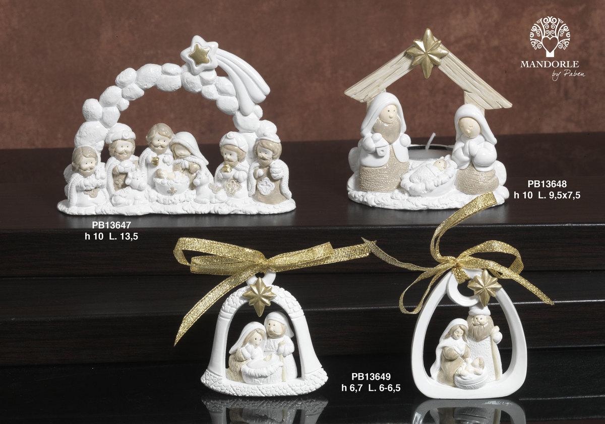 1913 - Presepi - Natività Resina - Natale e Altre Ricorrenze - Prodotti - Rebolab