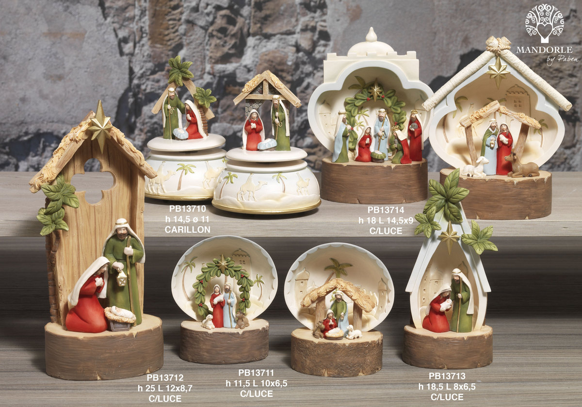 1925 - Polyresin Cribs - Nativity Scenes - Christmas and Other Events - Offers - Paben