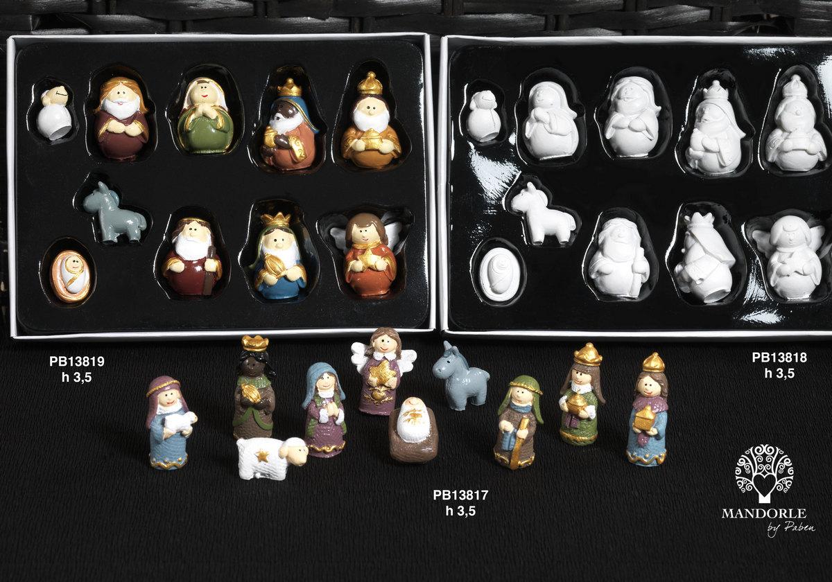 1942 - Presepi - Natività Resina - Natale e Altre Ricorrenze - Prodotti - Rebolab