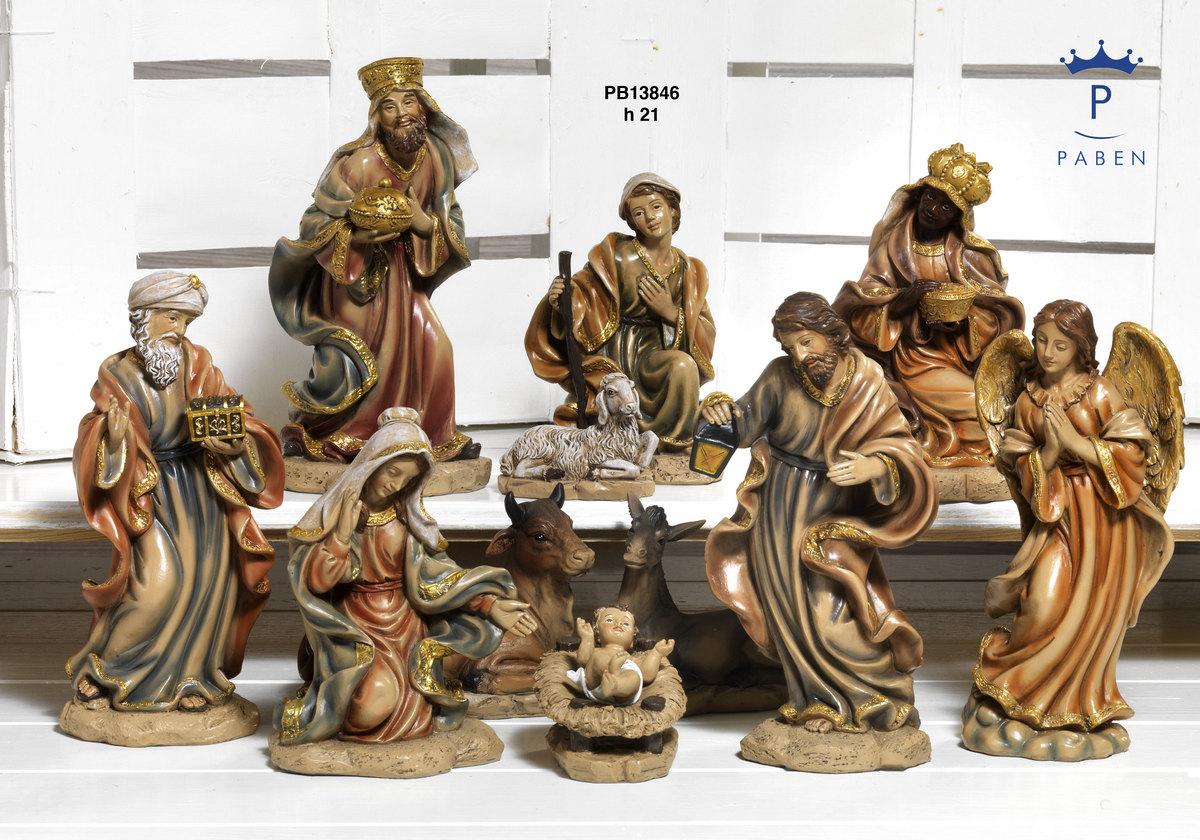 1947 - Presepi - Natività Resina - Natale e Altre Ricorrenze - Prodotti - Rebolab