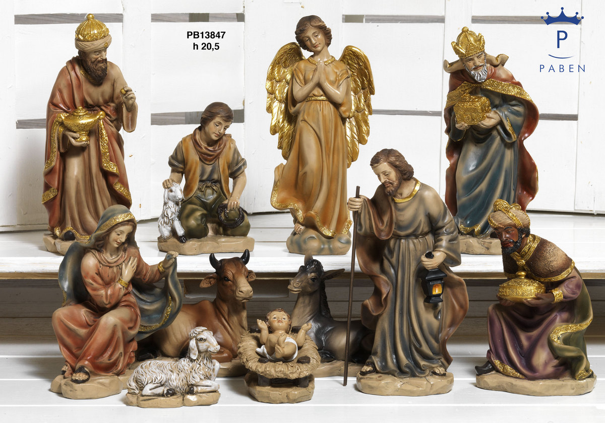 1948 - Presepi - Natività Resina - Natale e Altre Ricorrenze - Prodotti - Rebolab