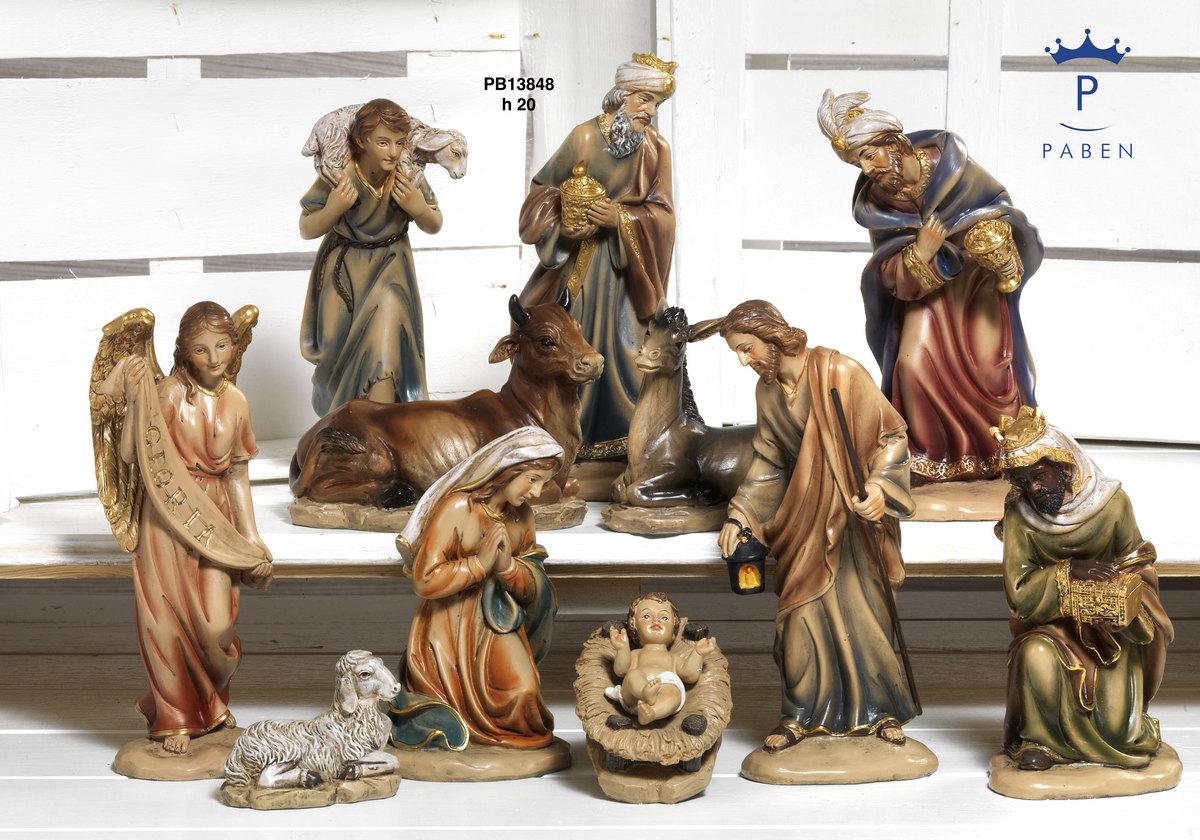 1949 - Presepi - Natività Resina - Natale e Altre Ricorrenze - Prodotti - Rebolab