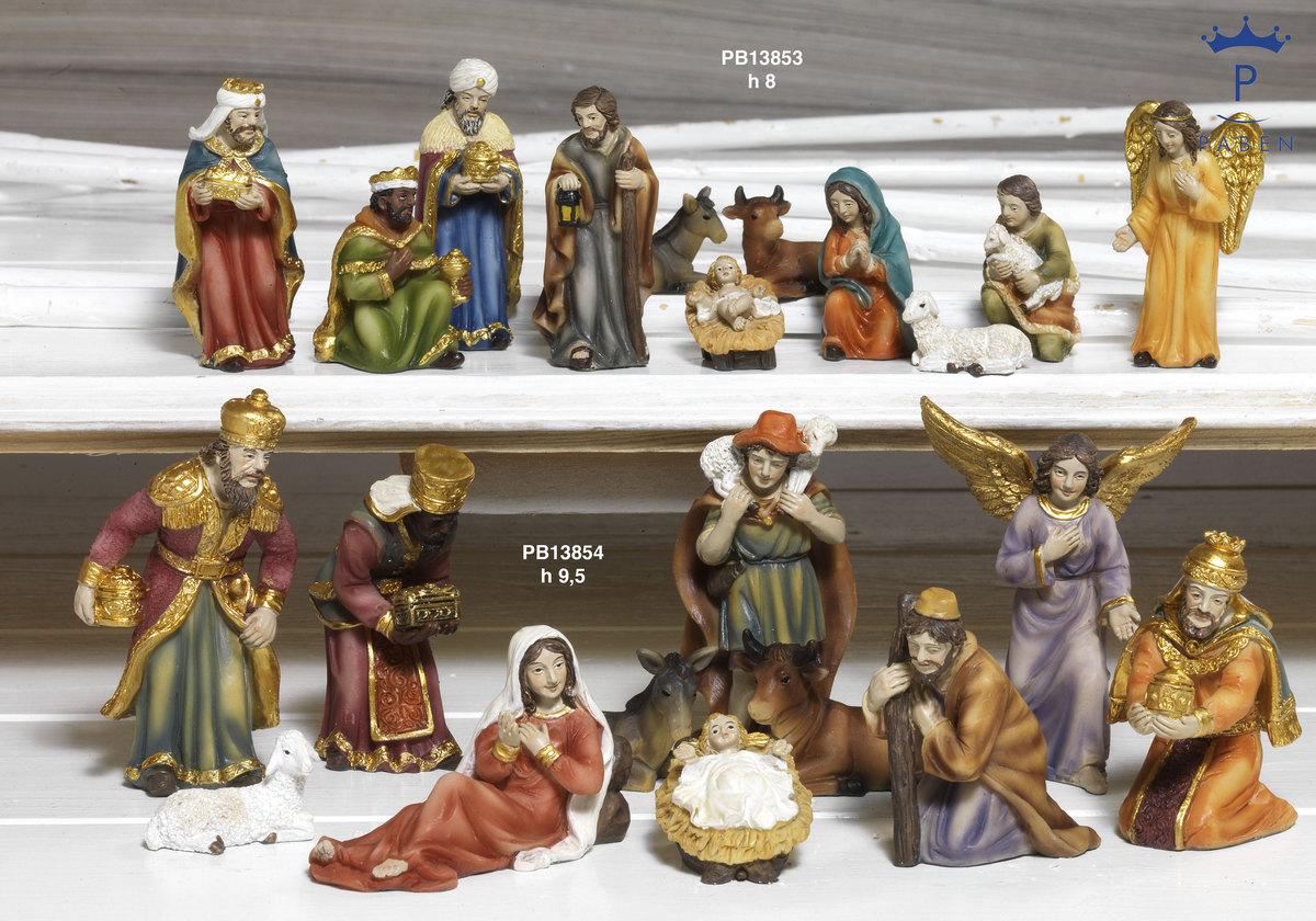 194B - Presepi - Natività Resina - Articoli Religiosi - Prodotti - Rebolab