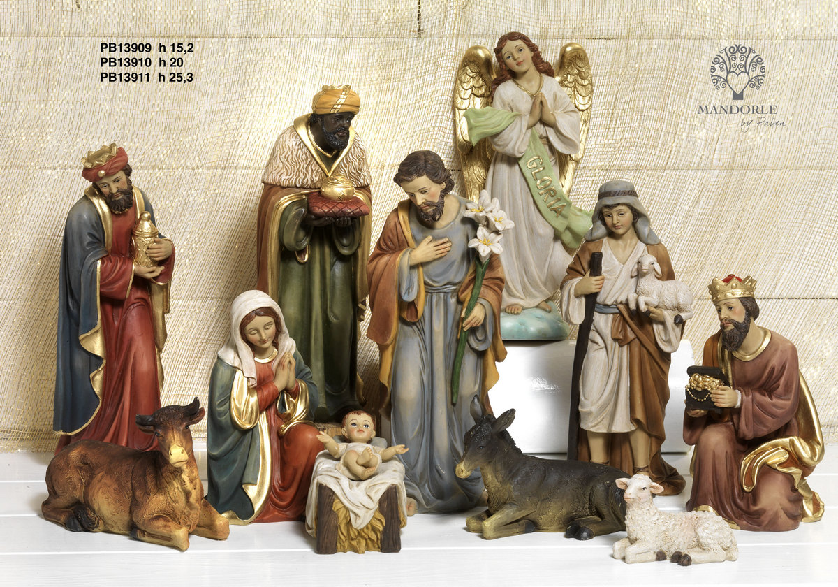 1958 - Presepi - Natività Resina - Natale e Altre Ricorrenze - Prodotti - Rebolab