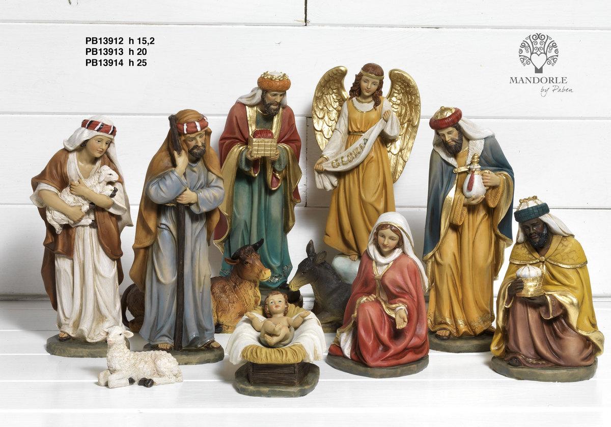 1959 - Presepi - Natività Resina - Natale e Altre Ricorrenze - Prodotti - Rebolab