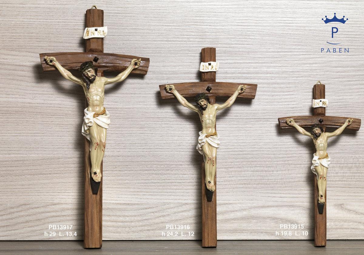 195A - Crocifissi - Articoli Religiosi - Prodotti - Rebolab