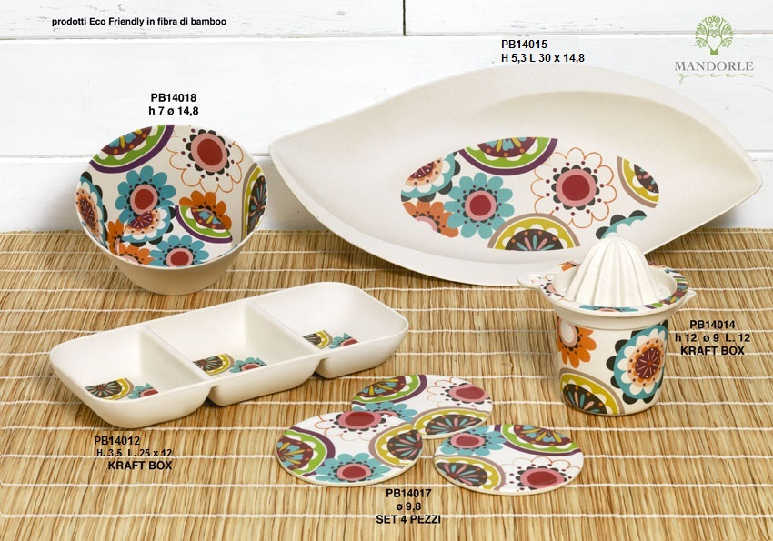 196D - Utensili Tavola - Cucina - Mandorle Bomboniere  - Prodotti - Rebolab