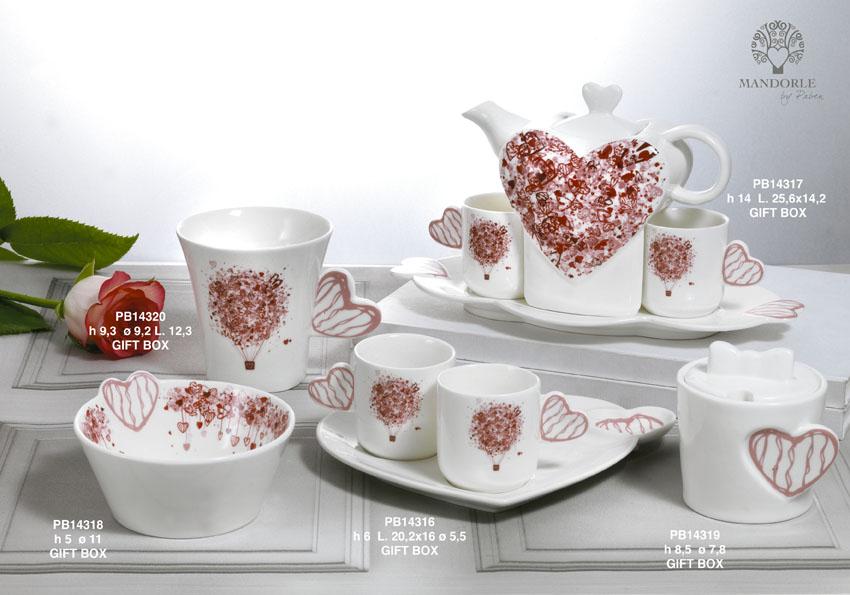 19A6 - Collezioni Porcellana-Ceramica - Mandorle Bomboniere  - Prodotti - Rebolab