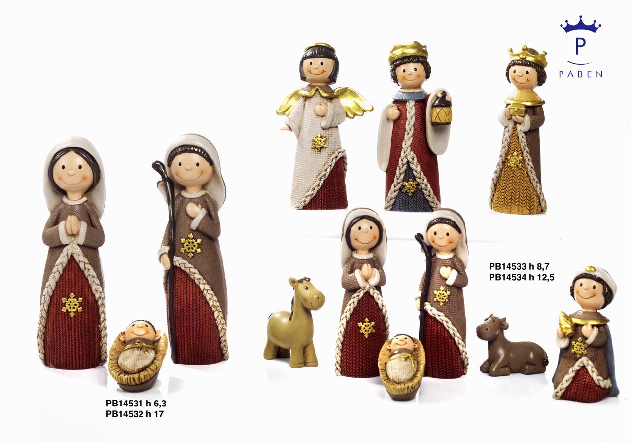 19D6 - Presepi - Natività Resina - Natale e Altre Ricorrenze - Prodotti - Rebolab