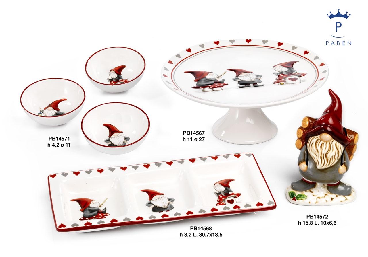19DF - Regali - Ceramiche Natalizie - Natale e Altre Ricorrenze - Prodotti - Rebolab