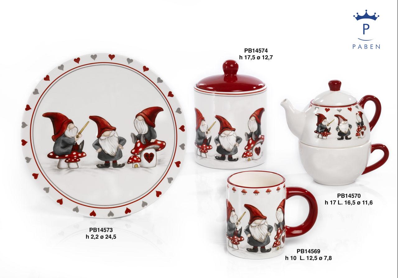 19E0 - Regali - Ceramiche Natalizie - Natale e Altre Ricorrenze - Prodotti - Rebolab