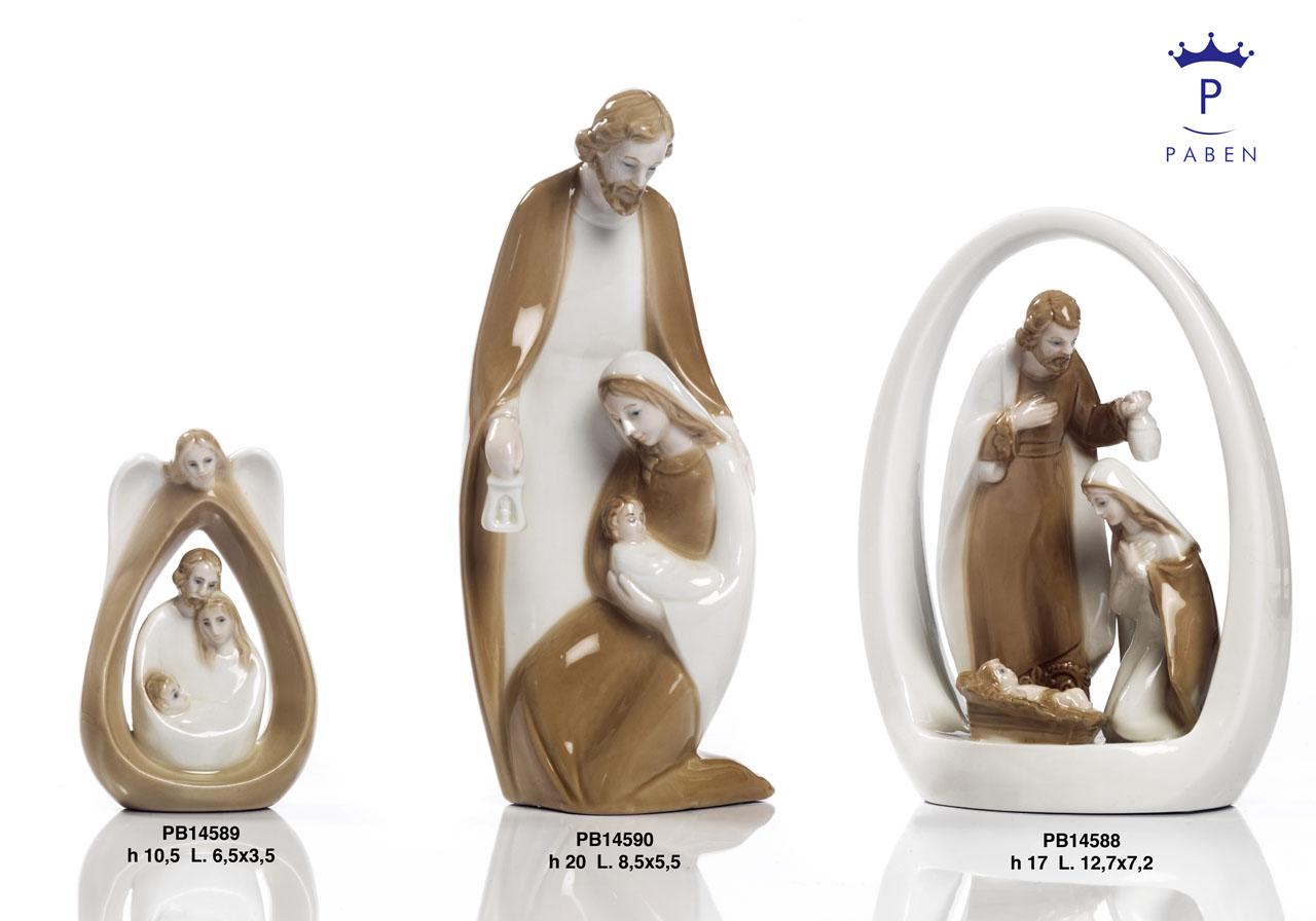19E5 - Presepi - Natività Porcellana - Natale e Altre Ricorrenze - Offerte - Paben