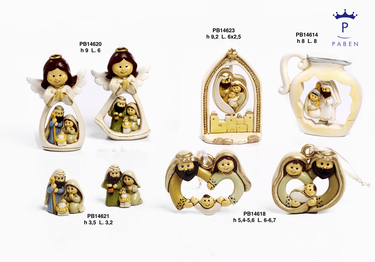 19ED - Presepi - Natività Resina - Articoli Religiosi - Prodotti - Rebolab