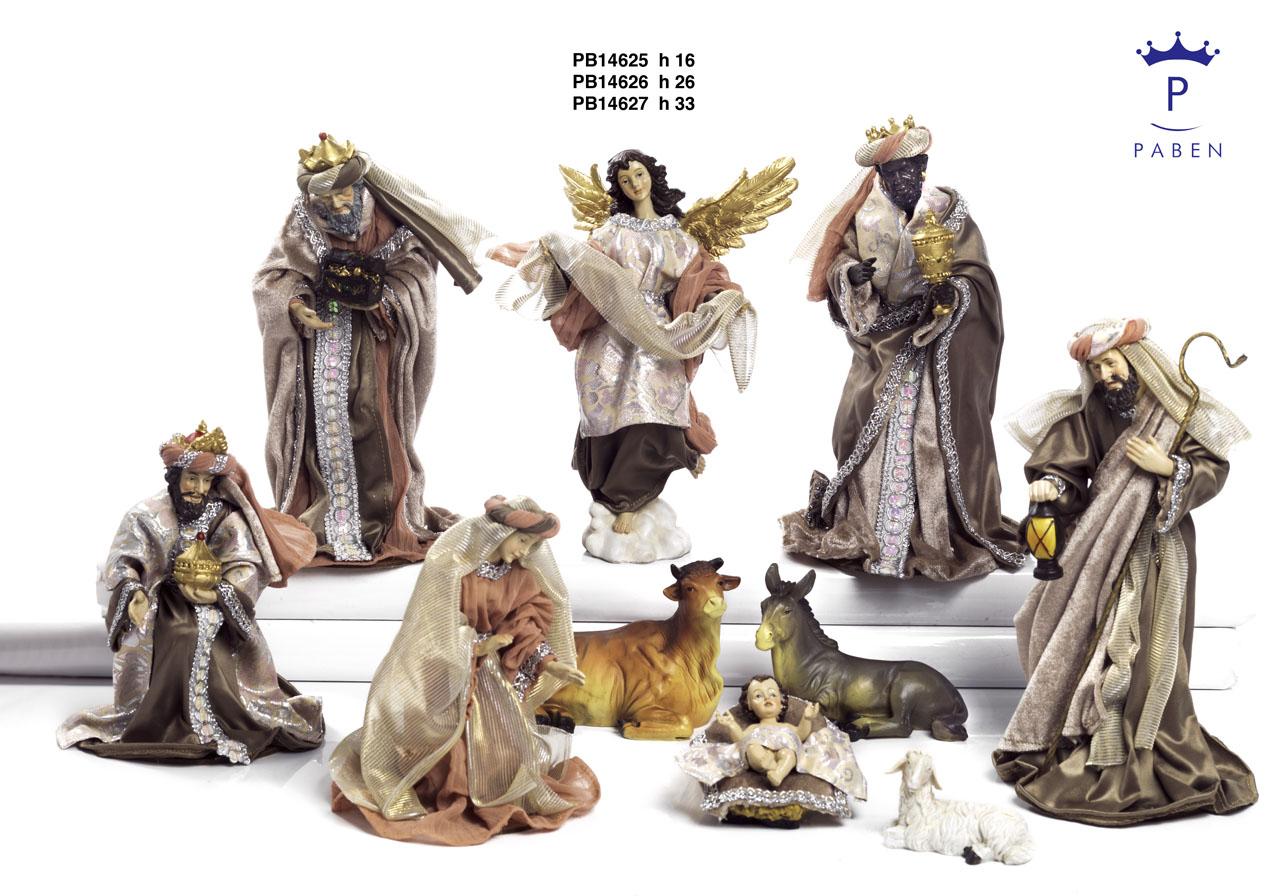 19EF - Presepi - Natività Resina - Articoli Religiosi - Prodotti - Rebolab