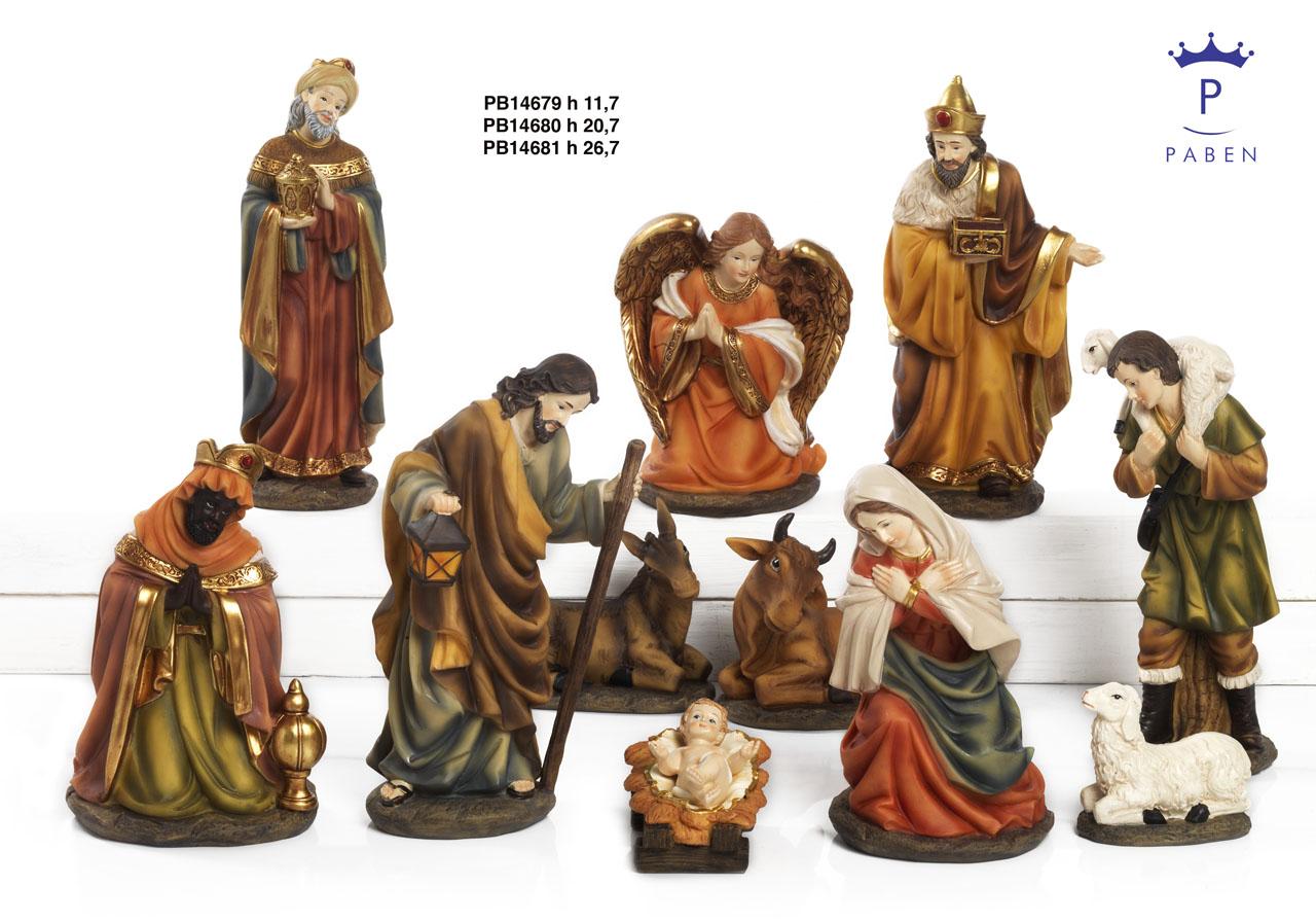 1A01 - Presepi - Natività Resina - Natale e Altre Ricorrenze - Prodotti - Rebolab