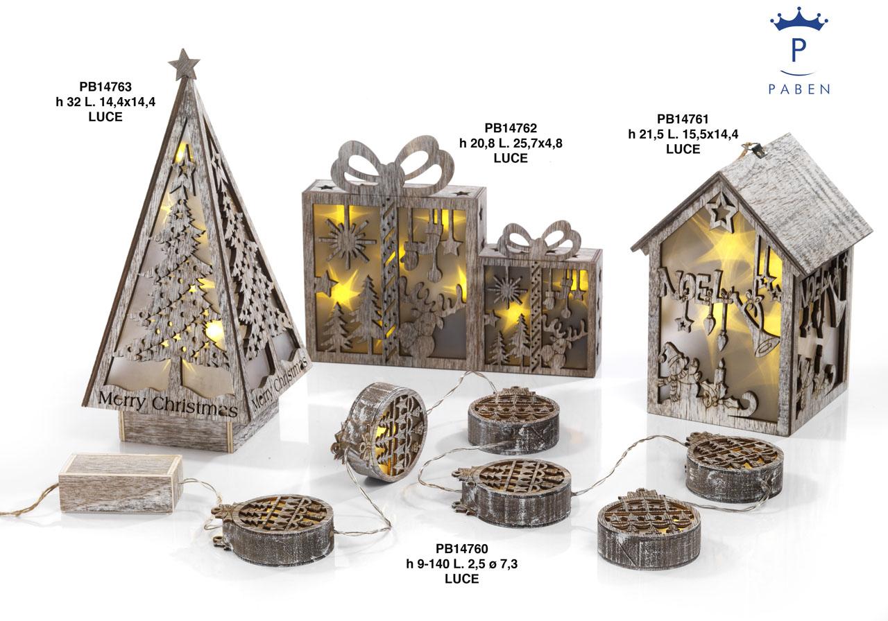 1A0F - Decorazioni - Addobbi Natalizi - Natale e Altre Ricorrenze - Prodotti - Rebolab