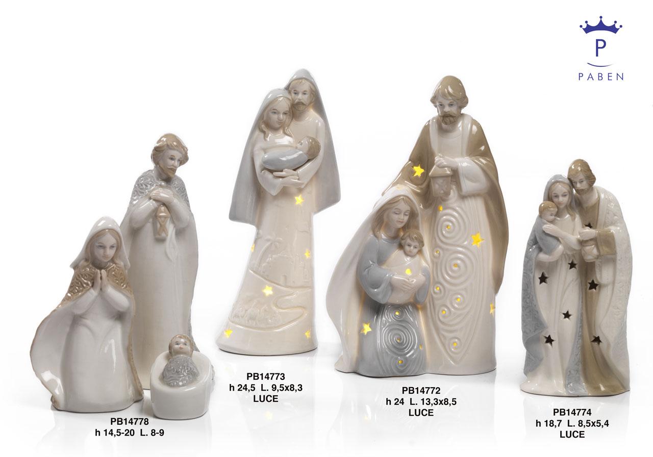 1A14 - Presepi - Natività Porcellana - Articoli Religiosi - Prodotti - Rebolab