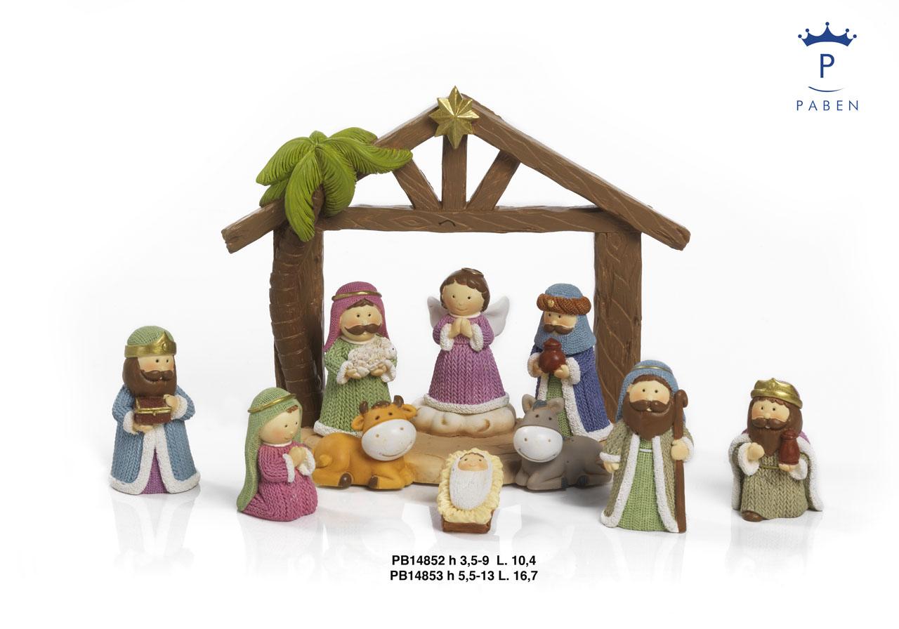 1A25 - Presepi - Natività Resina - Natale e Altre Ricorrenze - Prodotti - Rebolab