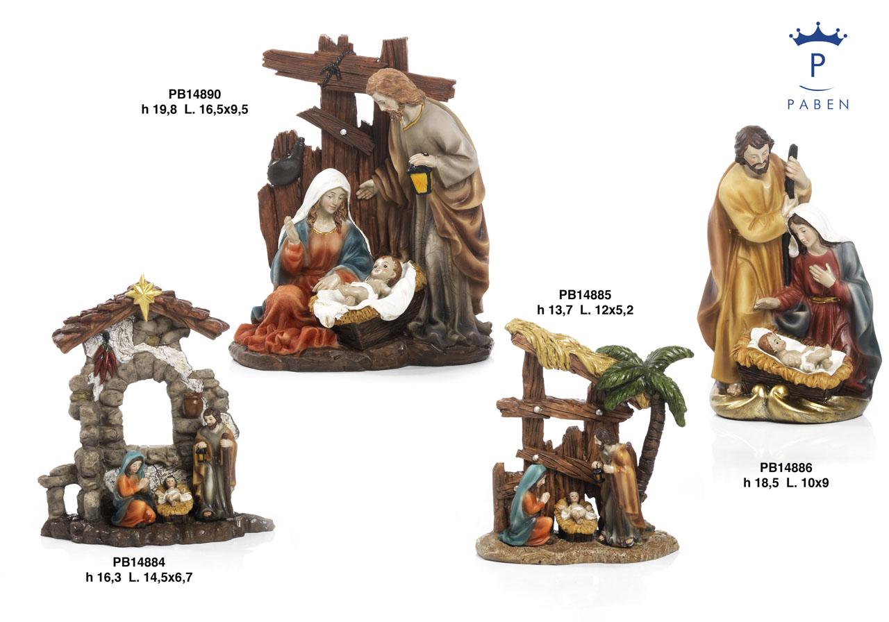 1A2E - Presepi - Natività Resina - Natale e Altre Ricorrenze - Prodotti - Rebolab