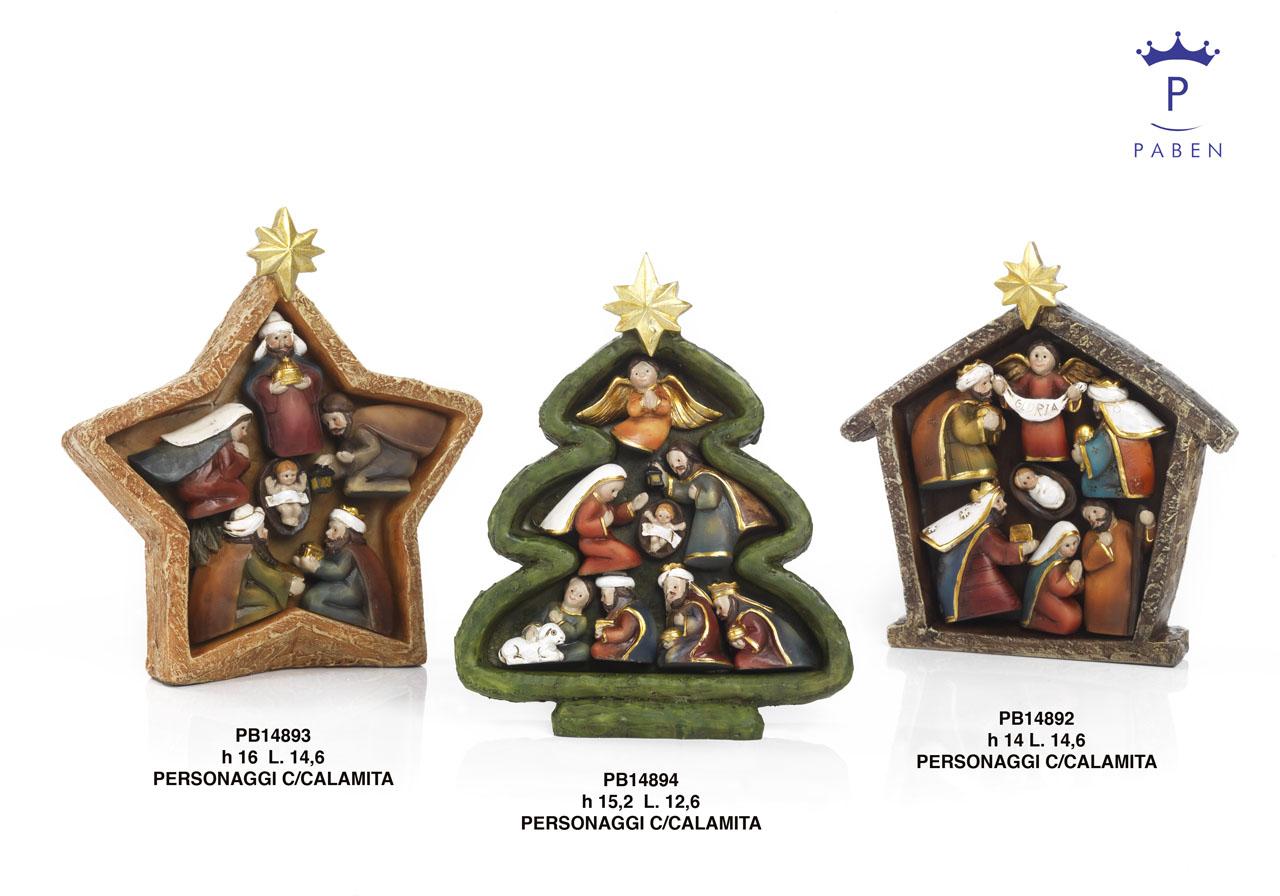 1A31 - Presepi - Natività Resina - Natale e Altre Ricorrenze - Prodotti - Rebolab