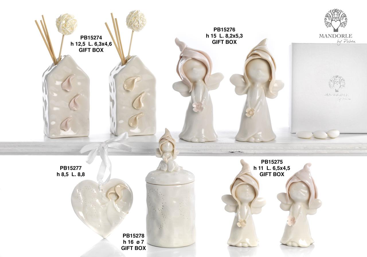 1A8D - Collezioni Porcellana-Ceramica - Mandorle Bomboniere  - Prodotti - Rebolab