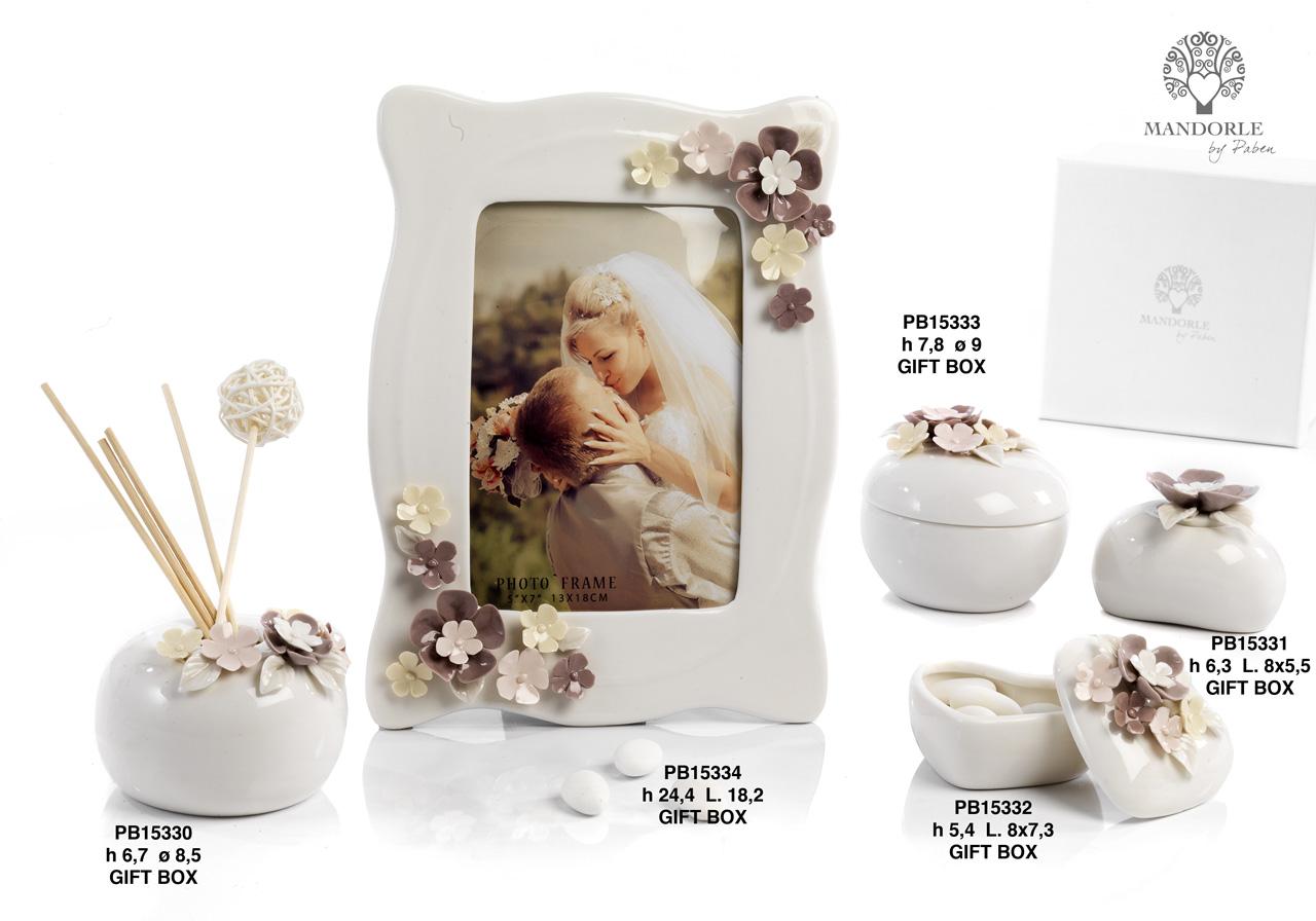 1A9C - Collezioni Porcellana-Ceramica - Mandorle Bomboniere  - Prodotti - Rebolab