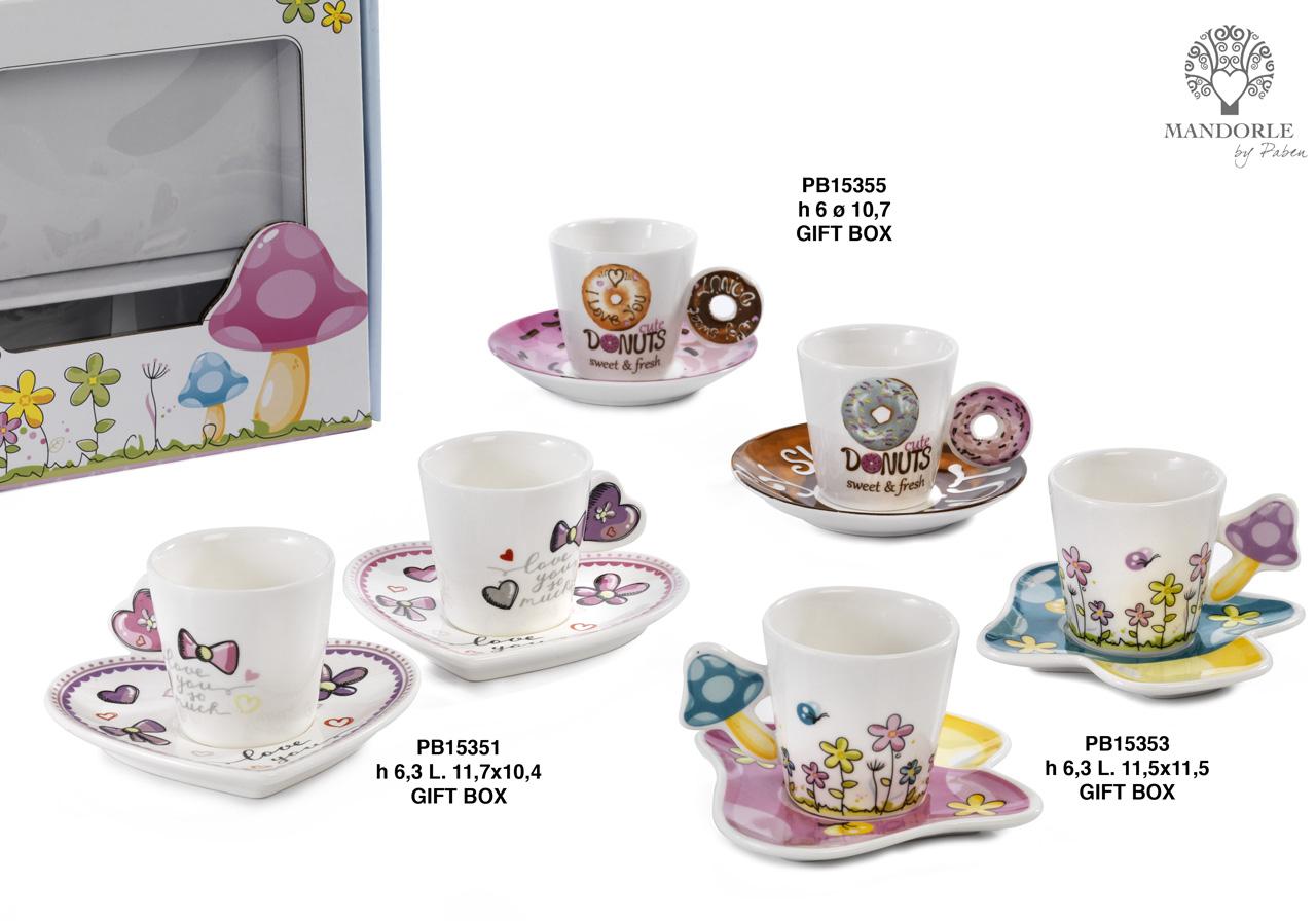 1AA2 - Collezioni Porcellana-Ceramica - Mandorle Bomboniere  - Prodotti - Rebolab