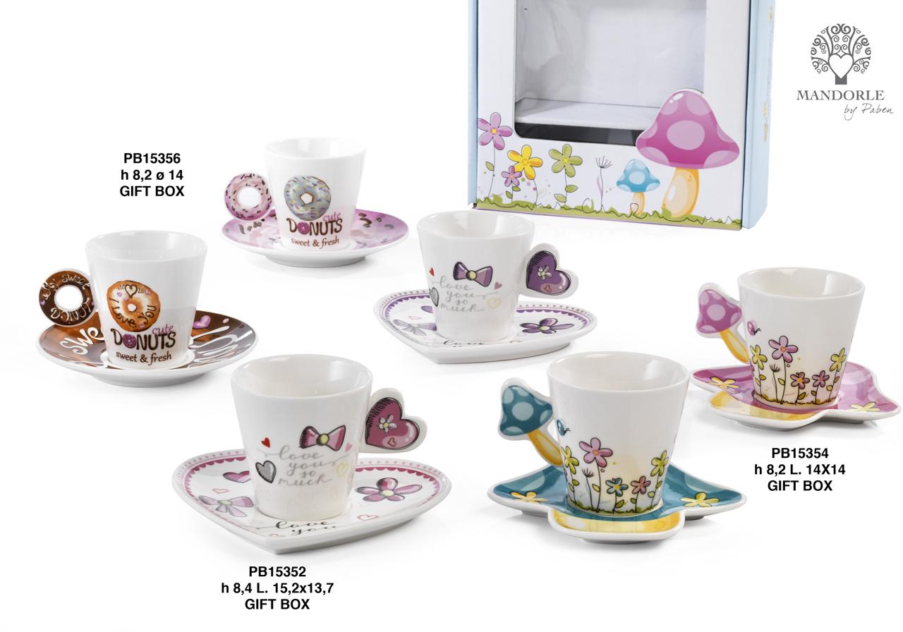 1AA3 - Collezioni Porcellana-Ceramica - Mandorle Bomboniere  - Prodotti - Rebolab