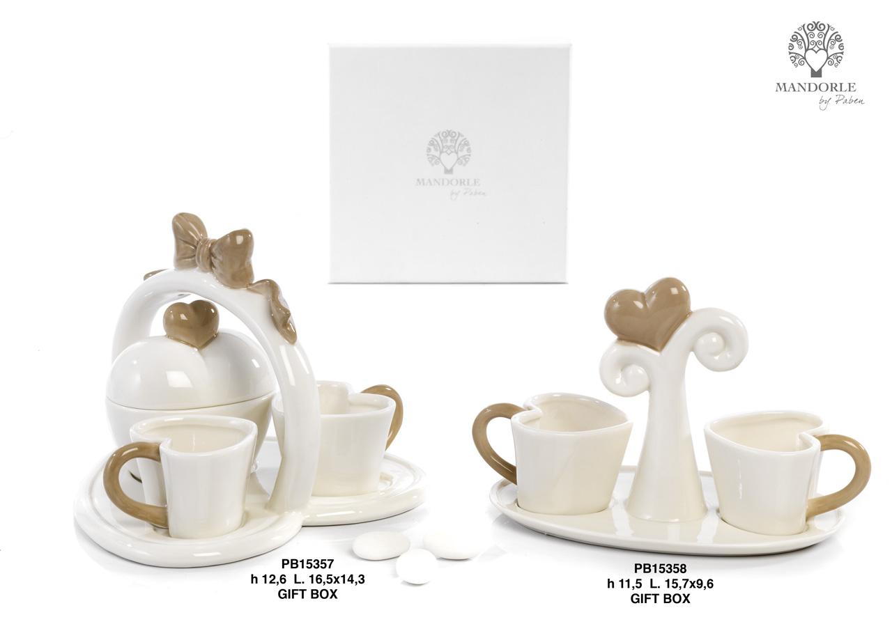 1AA4 - Collezioni Porcellana-Ceramica - Mandorle Bomboniere  - Prodotti - Rebolab