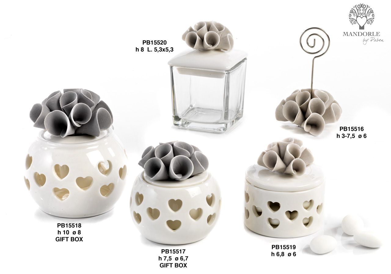 1ACB - Porcelain-Ceramics Collections - Mandorle Bonbonnieres - Offers - Paben